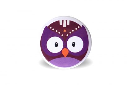 Magnet têtes d'animaux tribals hibou - Julie & COo