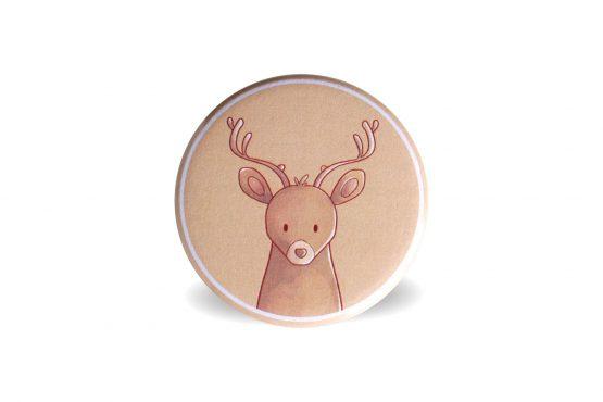 Aimant magnet animal de la forêt cerf - Julie & COo