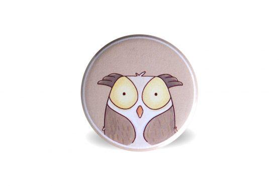 Aimant magnet animal de la forêt hibou - Julie & COo