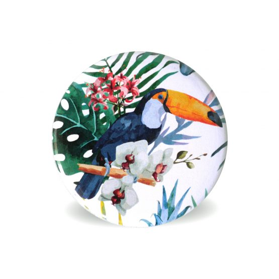 Magnets frigo aimant tropical exotique décoration cuisine toucan collection vacances - Julie & COo