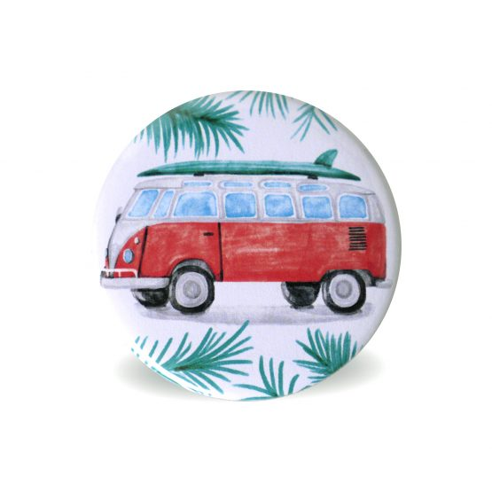 Magnets frigo aimant tropical exotique décoration cuisine van collection vacances - Julie & COo