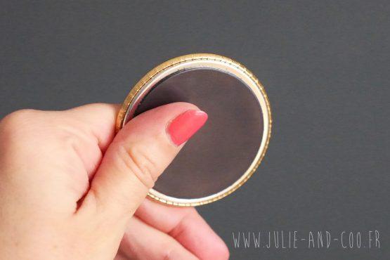 Magnet gold brillant or doré jaune bling bling shiny aimant frigo girly cocooning décoration home cadeau original handmade - Julie & COo